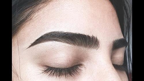 Cách khắc phục lông mày phun đậm