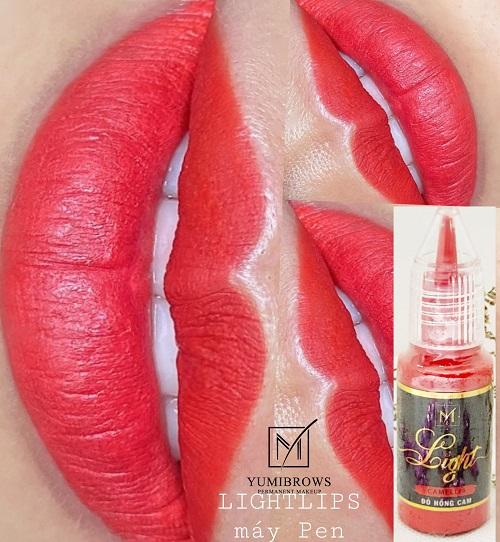 Phun môi nên đi kim 1 để hạn chế tổn thương