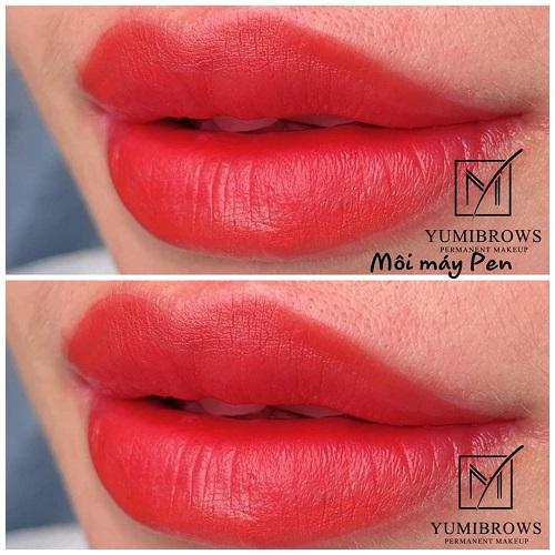 Quy trình phun môi luôn an toàn, đảm bảo vệ sinh