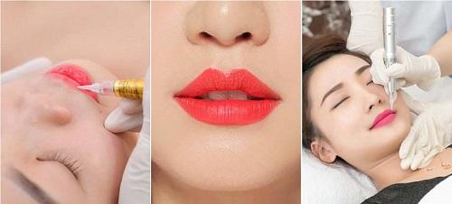 Đi viền giúp môi rõ khuôn dáng và cân chỉnh hơn