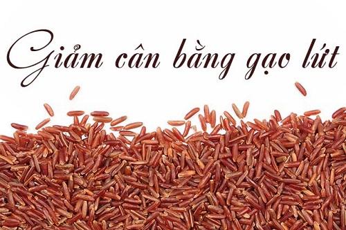 kinh nghiệm giảm cân bằng gạo lứt hiệu quả