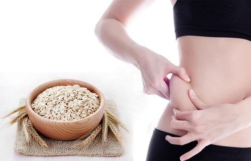 Có nhiều cách để giảm cân bằng yến mạch