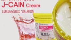 Cách sử dụng kem ủ tê J-Cain