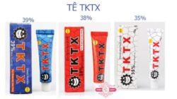 Cách sử dụng tê TKTX trong phun xăm.