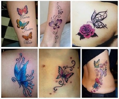 Ý nghĩa hình xăm con bướm trong nghệ thuật tattoo