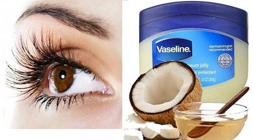 cách dưỡng lông mày bằng Vaseline